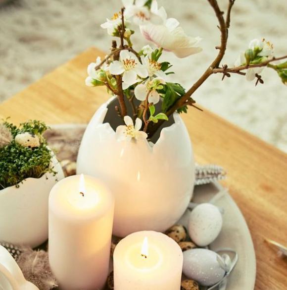 Πασχαλινές Διακοσμήσεις-Συνθέσεις με φυσικά υλικά