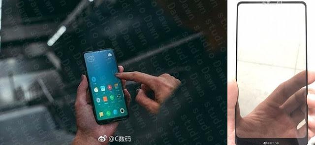Foto panel depan Xiaomi Mi MIX 2 beredar, bazel bawah lebih tebal
