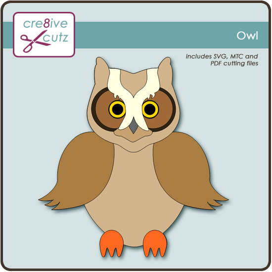 Download He's a Hoot! Free Owl SVG Cutting File | Cre8ive Cutz