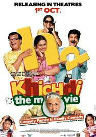 Khichdi The Movie 2010 Hindi Movie Free Download 480P BrRip 350MB
