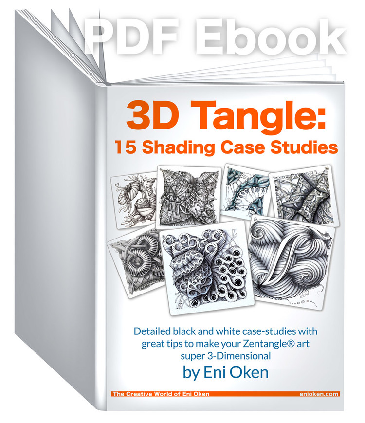 Review of 3d tangle shading case studies ebook by eni oken review of 3d tangle shading case studies ebook by eni oken zentangle enioken zentangle inspiredart fandeluxe Image collections