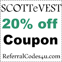 SCOTTeVEST Discount Code 2021 SCOTTeVEST.com Coupon Code January, February, March, April