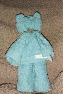 Αρκουδάκια από πετσέτες