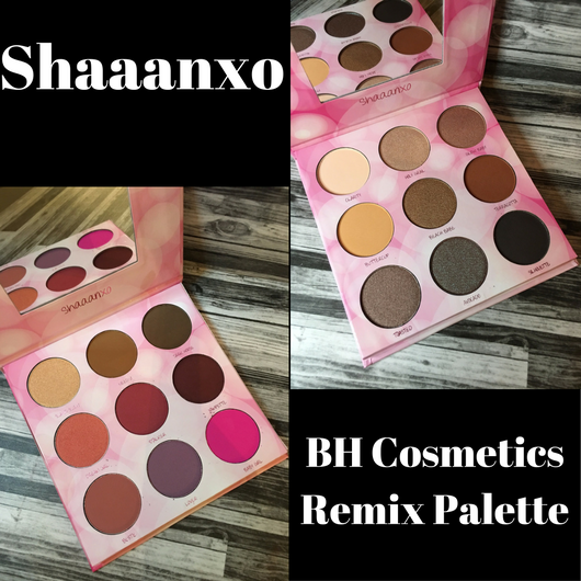 Shaaanxo BH Cosmetics Remix Palette Review and Swatches