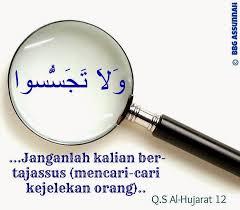 jangan mencari-cari kesalahan orang lain, mari belajar untuk tidak mencari kesalahan orang lain