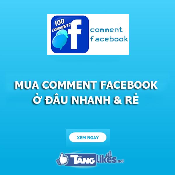 Mua comment facebook