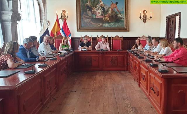El Ayuntamiento de Santa Cruz de La Palma pide colaboración a las instituciones para promocionar las fiestas de la Bajada de la Virgen