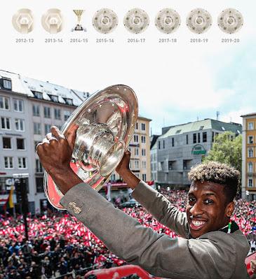 Sao Bayern có chức VĐQG thứ 8 liên tiếp ở tuổi 24