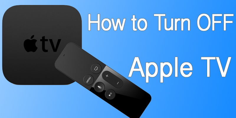 Turn Off Apple TV With Remote