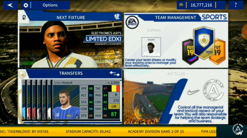 Download Dream League Soccer Mod FIFA 19 Legends by