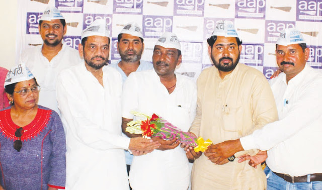 Aam Aadmi Party's Faridabad Lok Sabha Incharge