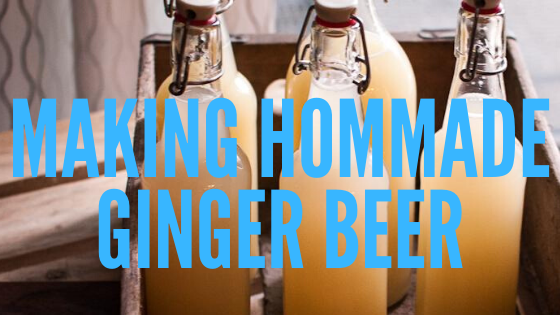 how to brew alcoholic ginger beer