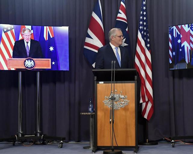 L'Australie achète des sous-marins nucléaires américains en raison de l'évolution des besoins de sécurité