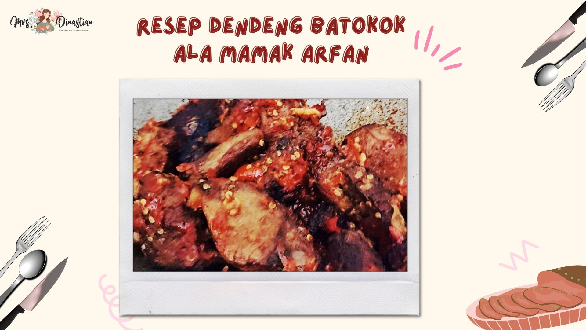 Resep Dendeng Batokok