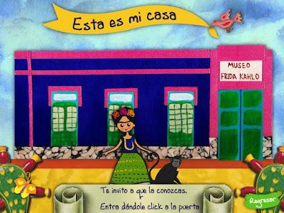 http://infantil.museofridakahlo.org.mx/