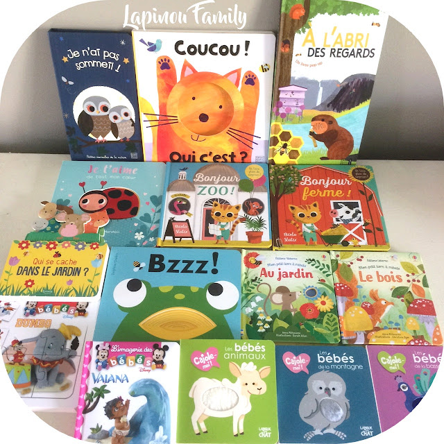 selection livre tout petits 1 an