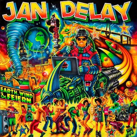 Jan Delay kündigt sein neues Album 'Earth, Wind & Feiern' an mit der Single Intro