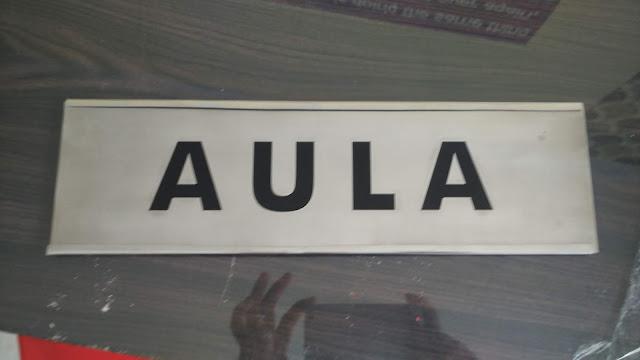 Plang Nama Ruangan