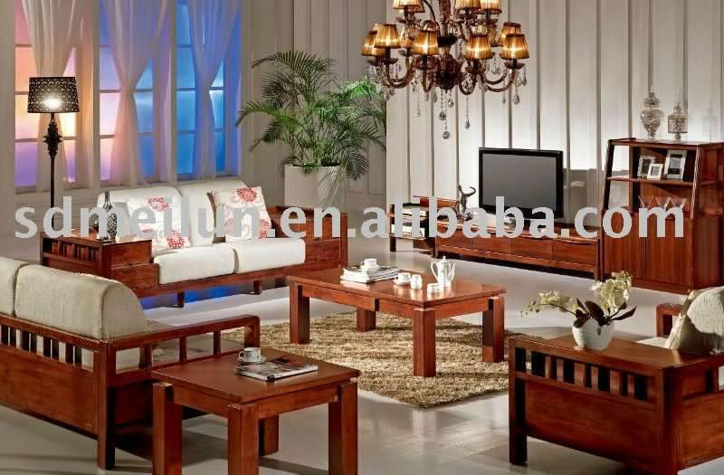 All Wood Sofa ~ Wooden sofa sets for living room all wood home cheap