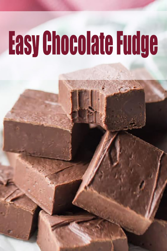 Easy Chocolate Fudge Recipe