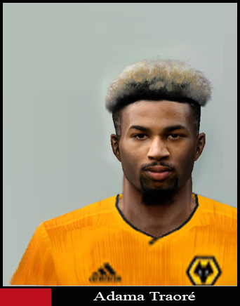 Pes 6 Adama Traore Wolves Face 2019 20 Download Game
