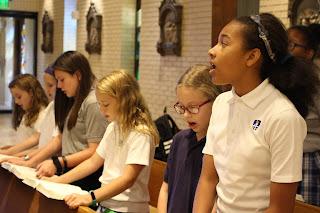 Montgomery Catholic Elementary Choirs Make Beautiful Music 1