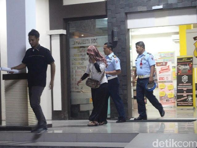 Perempuan Diduga Istri Anggota Lanud Muljono Surabaya Diperiksa Polisi
