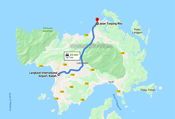 How to go to Tanjung Rhu Resort