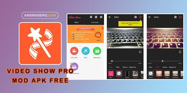Download VideoShow Pro Mod Apk Terbaru - androidepic.com