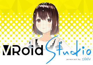 VRoid Studio 3D Anime Avatar Creator.