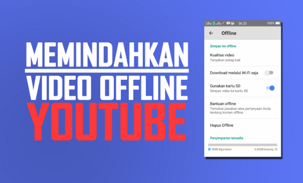 Cara Memindahkan Video Offline YouTube ke SD Card (kartu memori)