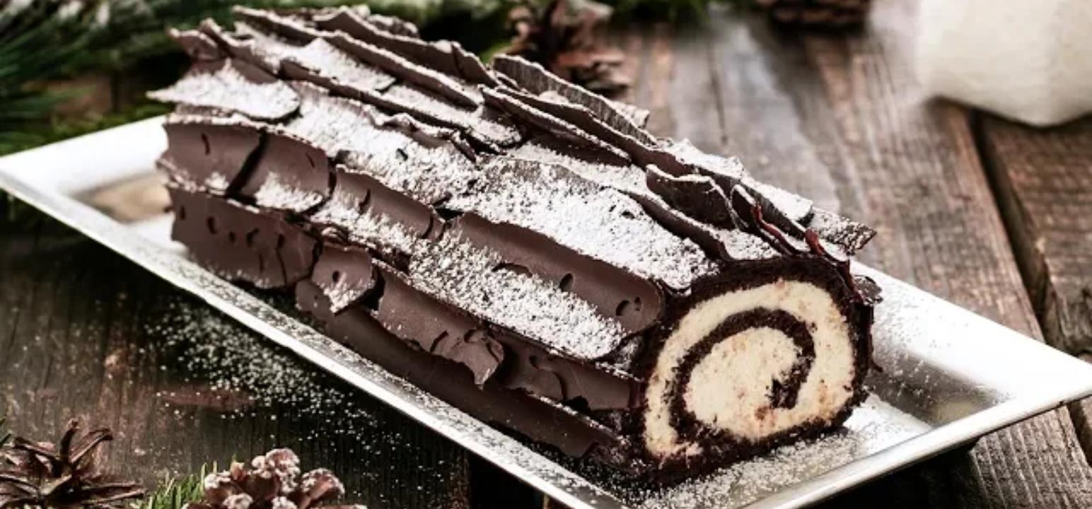 Caramel chocolate logs Recipe - recipeblogs.in