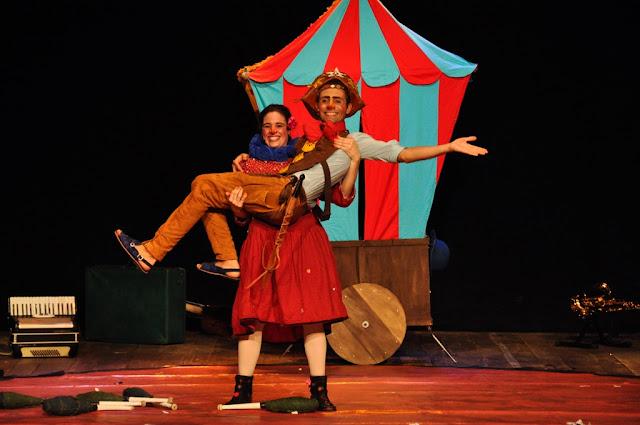 O Circo de Lampezão e Maria Botina em Registro-SP