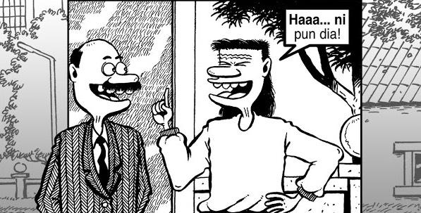 Kisah Sebenar Disebalik Komik Mat Despatch, Karya Lengkuas