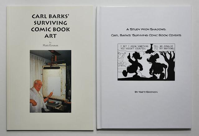 Carl Barks' Surviving Comic Book Art, A Study from Shadow: Carl Barks' Surviving Comic Book Covers