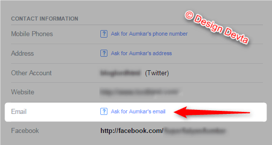 How to find hidden email on facebook