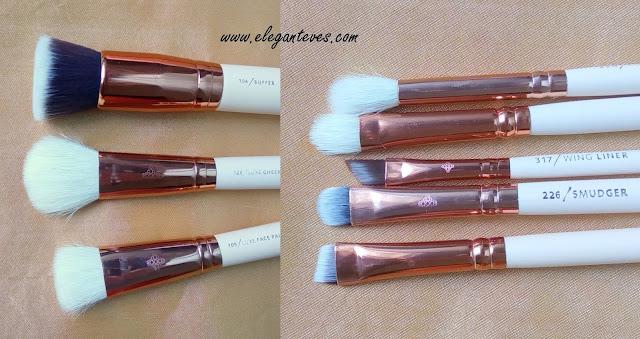 Zoeva Rose Gold Brush Set Ali Express