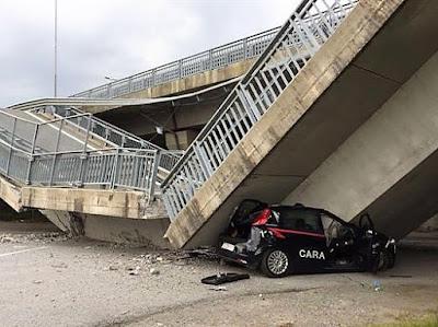Carabinieri-crollo-ponte-Fossano