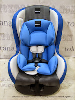 BABYELLE BE500 Convertible Car Seat Group 0 dan 1 (New Born - 18kg)