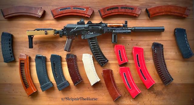 Sleipnir-Rebarreled-SLR-104-Prototype-Magazines-AK-Ribbed-Bakelite-Window-Polymer