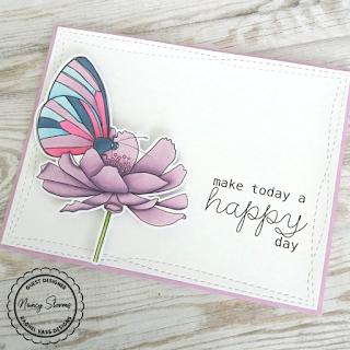 Rachel Vass Designs - Happy Butterfly