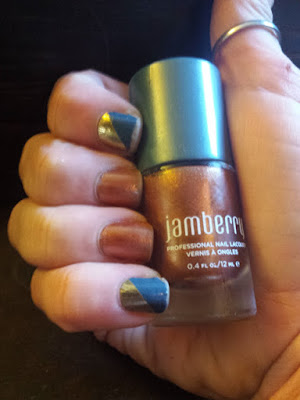 Copper Penny JAmberry  Mani