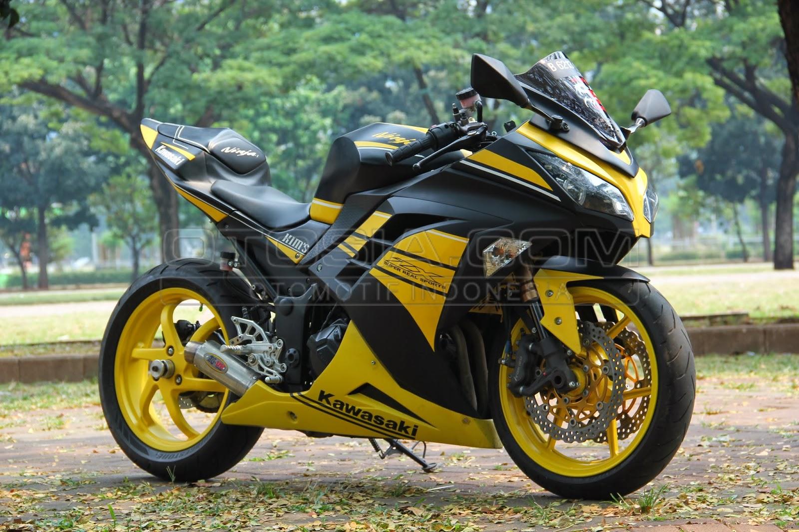 100 Gambar Motor Ninja Warior Modif Sobat Modifikasi