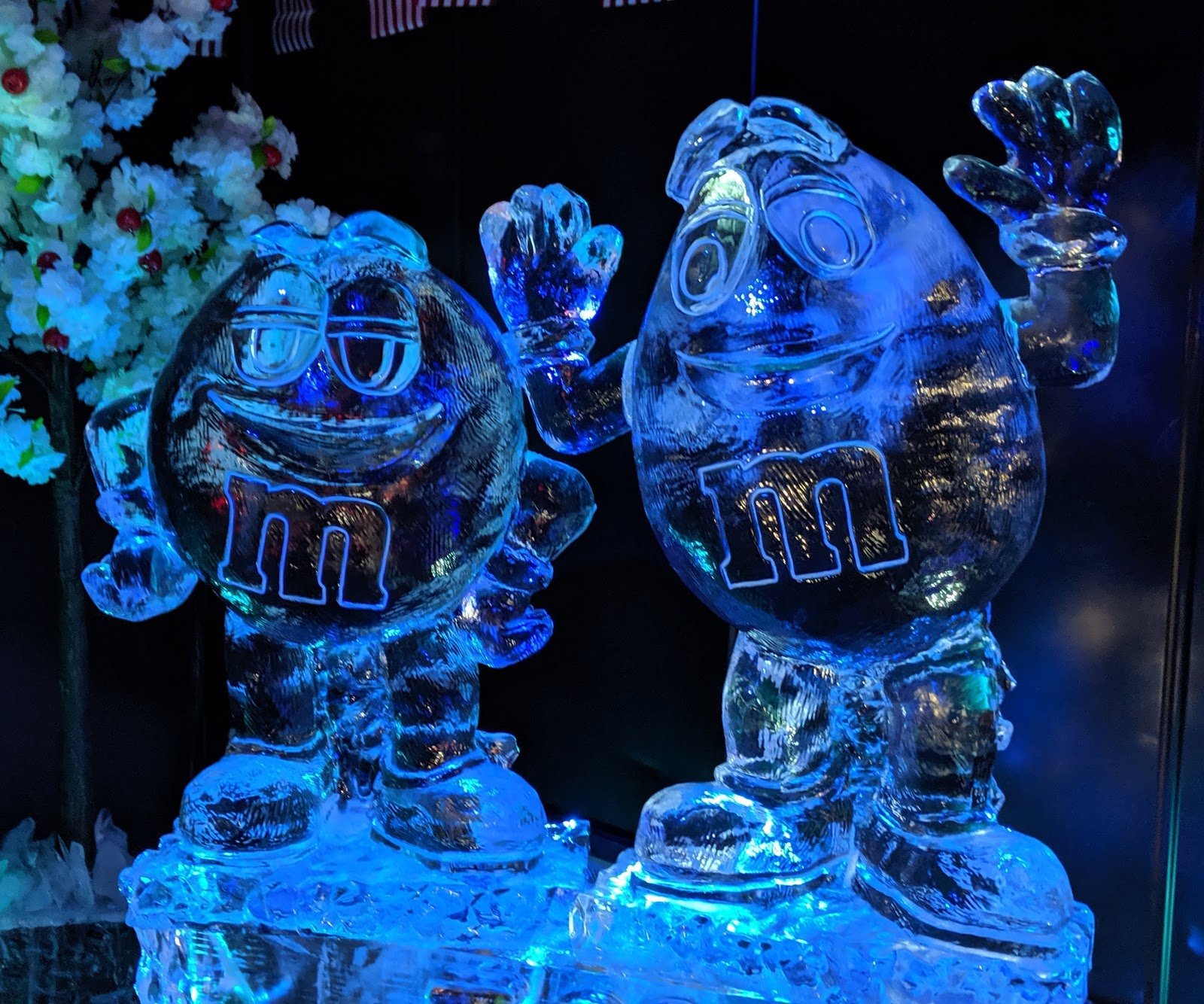 The Ice Bar at STACK Newcastle Review  - M&Ms