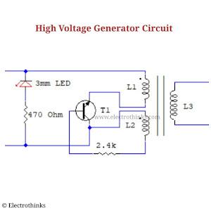 High Voltage Generator Circuit