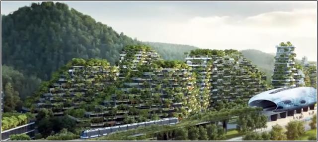 La primera ciudad bosque del mundo.