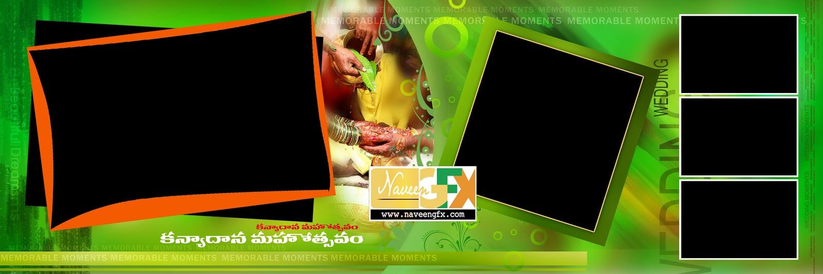 12x36 Indian Wedding Banner Psd Template Free Downloads