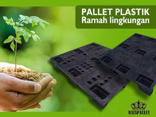 pallet plastik ramah lingkungan