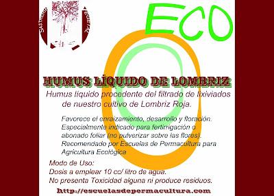 humus de lombriz y fitosanitarios organicos