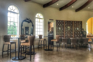 Morais Vineyards & Winery tasting room in Virginia